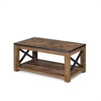 Magnussen Penderton Wood Small Rectangular Coffee Table in ...
