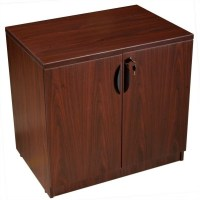 Storage Cabinet in Mahogany