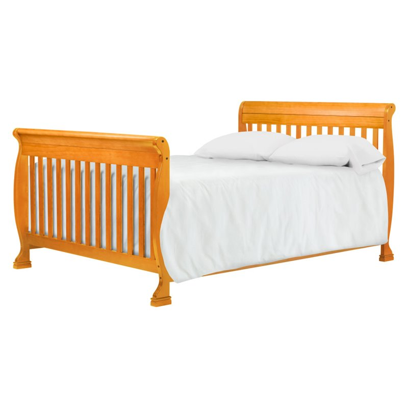 Black Friday Convertible Sofas Davinci Kalani 4-in-1 Convertible Baby Crib In Honey Oak