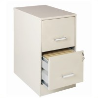2 Drawer Letter File Cabinet in Stone - 16870