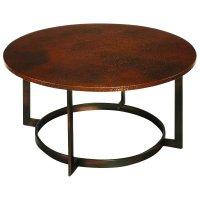 Hammary Nueva Round Cocktail Copper Coffee Table   eBay