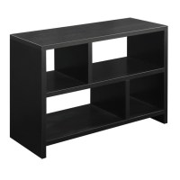Bookend Console Table in Espresso - 111085A