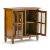 Low Storage Cabinet in Honey Brown - AXWSH009