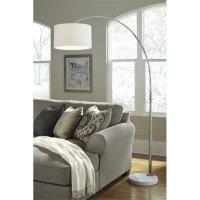 Ashley Areclia Metal Arc Lamp in Chrome - L725079