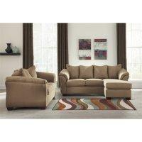 Ashley Darcy 2 Piece Sofa Set in Mocha - 75002-18-35-PKG