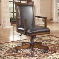 Signature Design by Ashley Furniture Hamlyn Swivel Chair ...