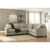 Ashley Furniture Alenya 3 Piece Sectional Sofa in Quartz ...