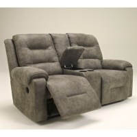 Ashley Furniture Rotation Double Power Reclining Loveseat ...