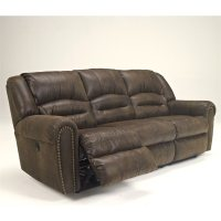 Ashley Furniture McNeil Faux Leather Reclining Sofa in ...