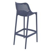 Compamia Air Patio Bar Stool in Dark Gray - ISP068-DGR