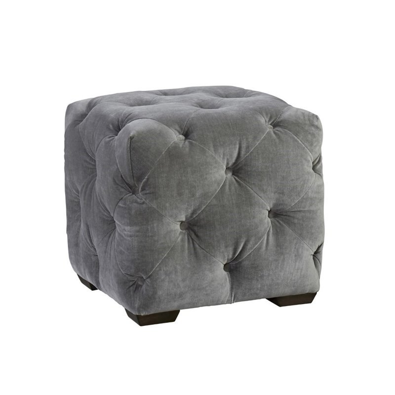 Deals On Sofas And Loveseats Universal Furniture Curated Barkley Velvet Tufted Cube