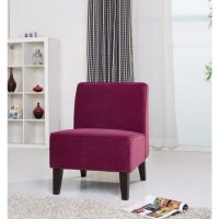 Gold Sparrow Plano Fabric Accent Chair in Purple - ADC-PLA ...