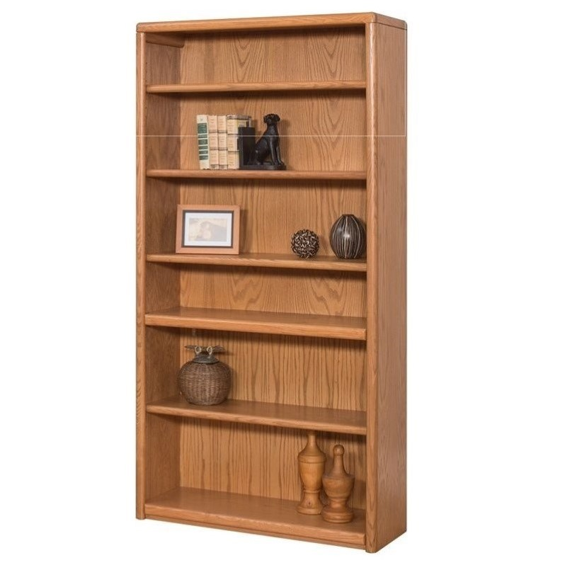 Martin Furniture Contemporary Bookcase With 6 Shelves In