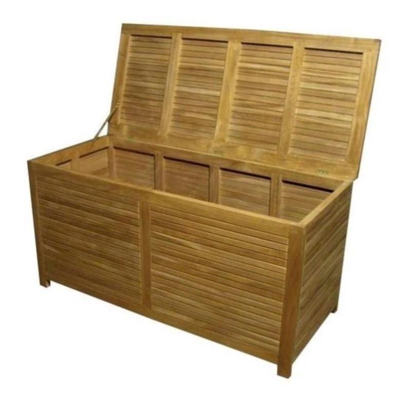 Anderson Teak Camrose Outdoor Storage Box Cabinets In