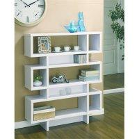 Furniture of America Caila Modern Geometric Bookcase in ...
