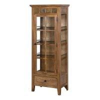 Sunny Designs Sedona Curio Cabinet in Rustic Oak - 2253RO