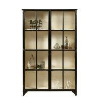 Pulaski Maura Iron Curio Cabinet in Black - P020622