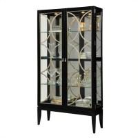 Curio Display Cabinet in Black Granite - 21465