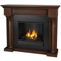 Real Flame Verona Indoor Gel Fireplace in Chesnut Oak ...