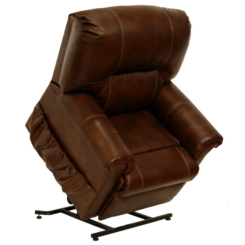 Catnapper Vintage Leather Touch Power Lift Recliner Chair