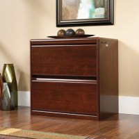 Sauder Cornerstone 2 Drawer Lateral Wood File Cabinet in