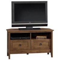 Corner TV Stand in Oiled Oak - 410627