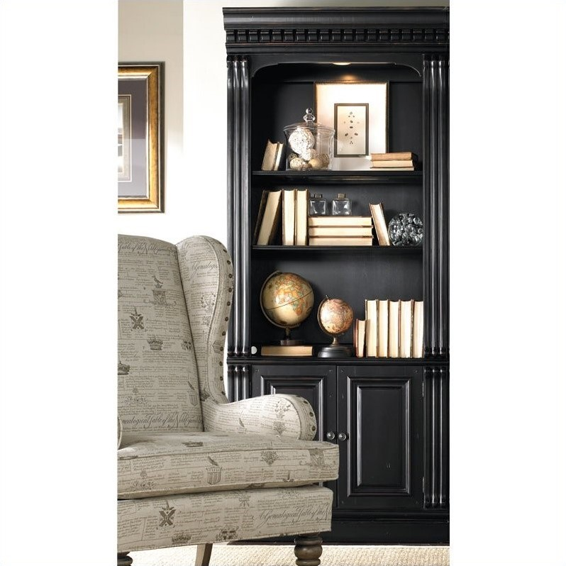 Hooker Furniture Telluride Bunching Bookcase With Doors In