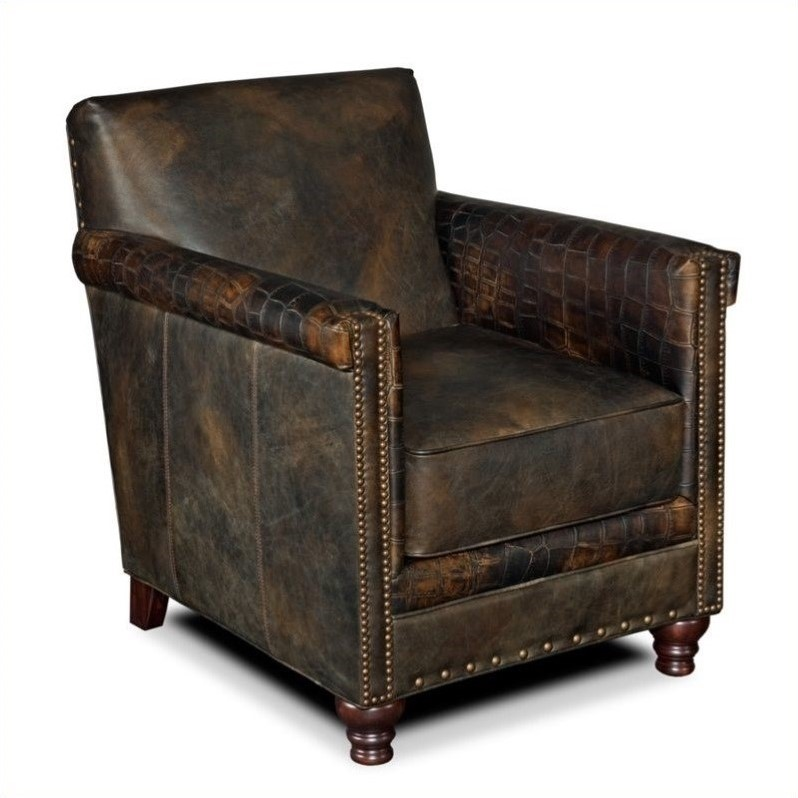 Deals On Sofas And Loveseats Hooker Furniture Seven Seas Leather Club Chair In Old