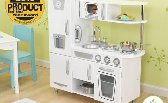 Kidkraft Wooden Vintage Toy Kitchen White For Sale