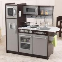 KidKraft Uptown Kitchen in Espresso - 53260