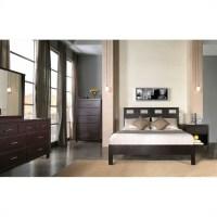 Modus Furniture Nevis Riva Profile Platform Bed 3 Piece ...
