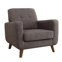 Coaster Mid Century Modern Accent Chair in Gray - 902481