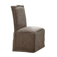Coaster Slauson Upholstered Dining Chair with Skirt in ...