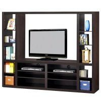 Coaster Wall Units Contemporary Entertainment Wall Unit in ...