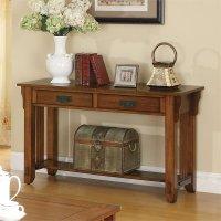 Coaster Sofa Table in Oak - 702009