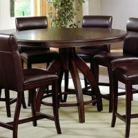 Dining Table: Round Dining Table Counter Height