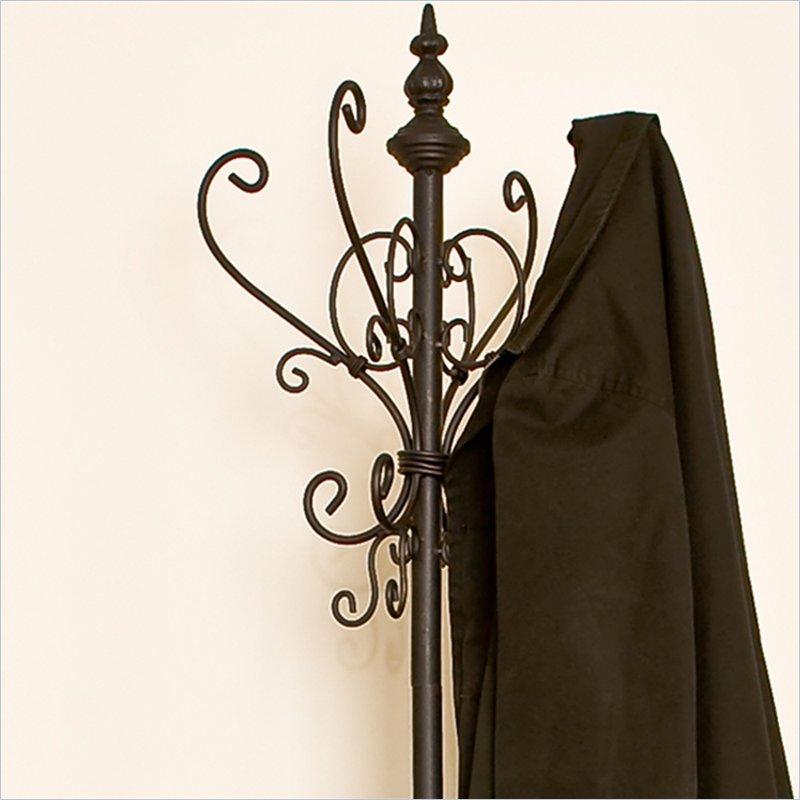 Southern Enterprises Iron Standing Umbrella Coat Rack Ebay
