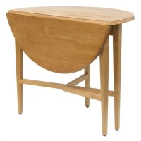 Dining Table: Round Dining Table Drop Leaf