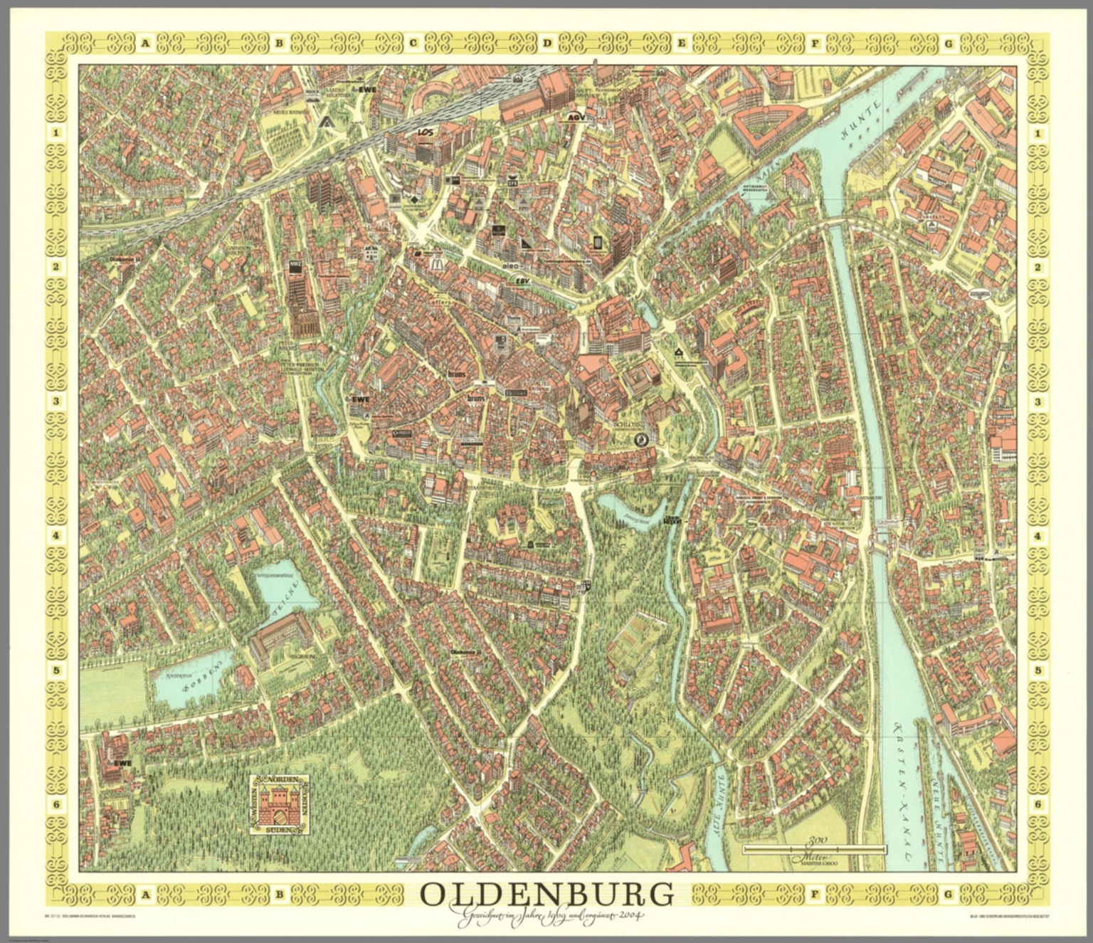 Maps Oldenburg Oldenburg Germany David Rumsey Historical Map Collection