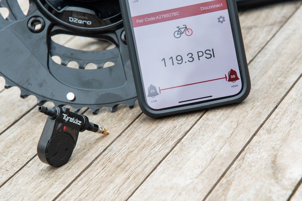 Hands-on Quarq TyreWiz Cycling Pressure Sensor DC Rainmaker