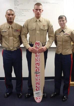 New Marine makes early contribution to Corps \u003e Marine Corps