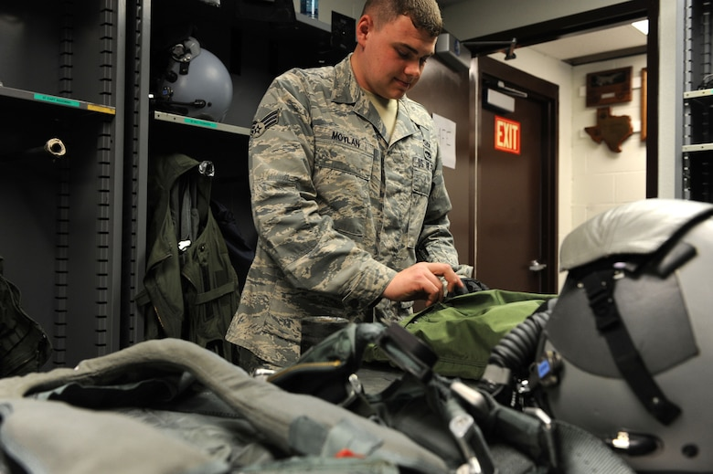 Aircrew flight equipment journeyman ensures safety for others