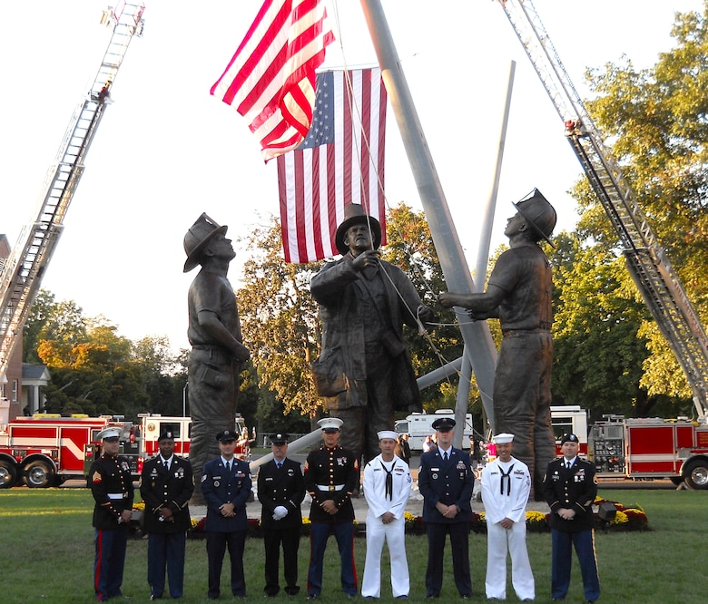 DOD firefighters honored at national memorial \u003e Air Education and