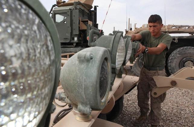 New York Marine helps steer unit success \u003e 2nd Marine Division