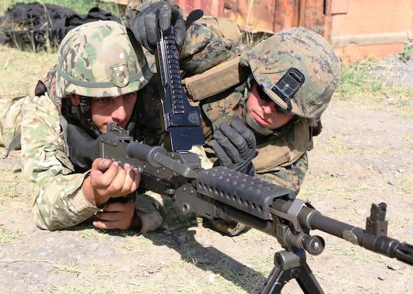 Machine guns, Mustaches and Motivation \u003e Marine Corps Forces