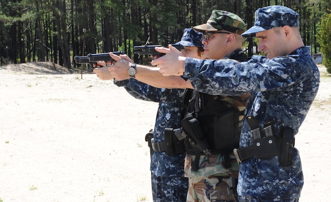 Air Force, Navy security forces man the gates \u003e Joint Base McGuire - us navy master at arms