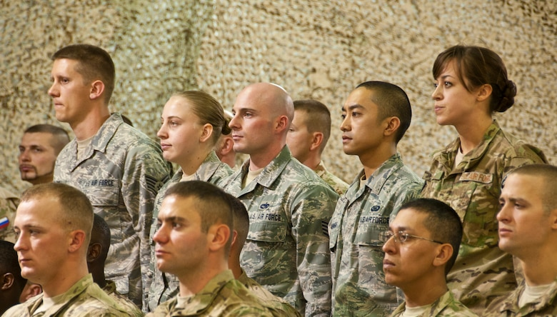 Airmen inducted into NCO corps \u003e US Air Forces Central Command \u003e News