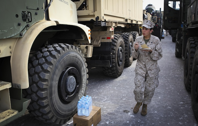 Port Operations ensure successful convoy operations during Exercise
