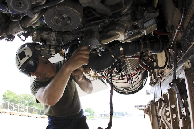 Aircraft maintenance ensures mission accomplishment during Exercise