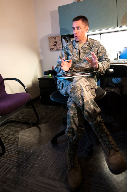 Psychologist tackles gray issues, helps people \u003e Moody Air Force - air force psychologist